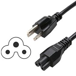 HQRP AC Power Cord for Bluesound Powernode, Bluesound Pulse