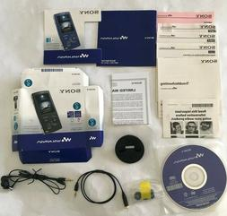 Accessories and Box ONLY Sony Walkman NWZ-A815 MP3 Digital M
