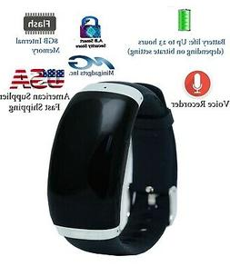 Activated Watch Fitness Band Voice Audio Recorder 570 Hour U