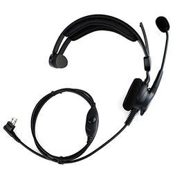 advance adjustable overhead earpiece headset