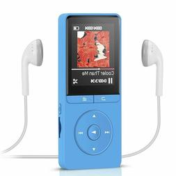 AGPTEK 8GB MP3 Player Radio/Voice Recorder 80 Hours Playback