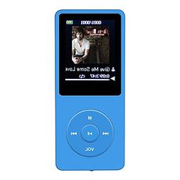 AGPtEK A02 8GB 70 Hours Playback MP3 Lossless Sound Music P