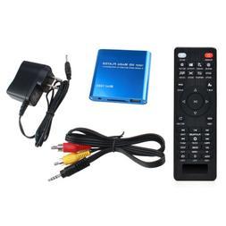 AGPTEK Mini 1080P Full HD Digital Media Player-MKV/RM-SD/USB