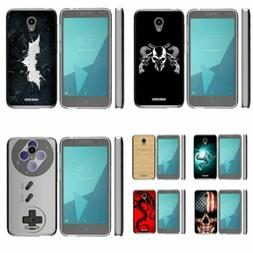 For Alcatel Raven / IdealXCite Slim Fitted Armor Clear Flexi