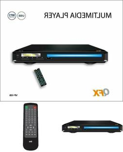 Qfx All Region Code Free Multi Zone DVD Player Divx/USB/AVI/