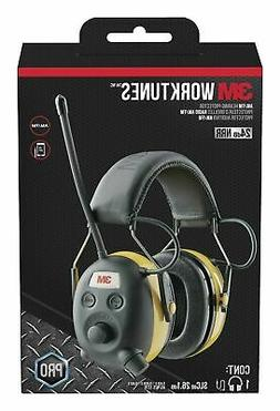AM/FM Hearing Protector Ear Muffs Mowing Work for iPod MP3 P