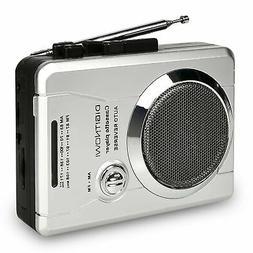DIGITNOW!AM/FM Portable Pocket Radio and Voice Audio Cassett