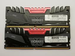 PNY Anarchy 16GB Kit - 2x 8GB DDR4 3200 PC4-25600 NON ECC De