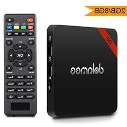 Android 7.1 Tv Box Dolamee D3 2GB RAM 8GB ROM Amlogic Quad C