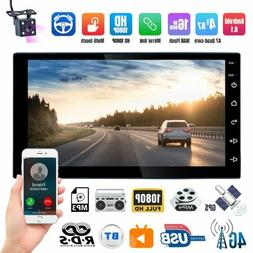 "Android 8.1 7"" 2Din Quad Core Car Stereo Radio GPS Navigatio"