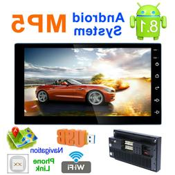"""Android 8.1 Car GPS Navigation 7"""" 2 Din Stereo Player Radio"""