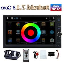"EinCar Android Car Stereo 7.1 Octa Core 2G 32G 7"" In Dash 2"
