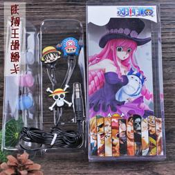 Anime ONE PIECE in-ear Headset Earphone Headphone Earbuds 3.