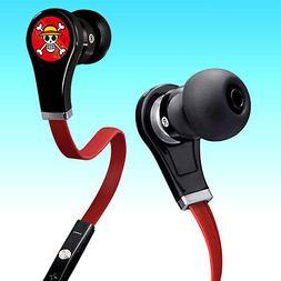 Anime One Piece Luffy Skull In-ear Earphone Stereo Headphone