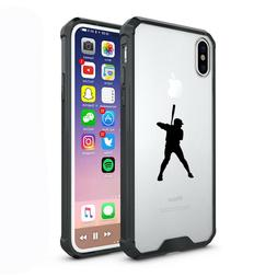 For Apple iPhone X XS Max XR Clear Shockproof Bumper Case Co