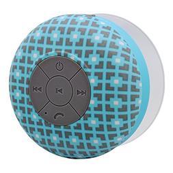 Aduro AquaSound WSP20 Waterproof Shower Bluetooth Portable S