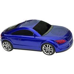 Qfx Audi Multimedia Portable Mini Speaker, FM Radio, MP3 Pla