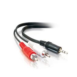 ANiceS Audio 3.5 mm Male  TRS to RCA Male Aux Stereo Cable