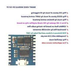 Audio Module DY-SV17F Mini MP3 Player IO Trigger USB Downloa