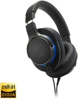 Audio-Technica ATH-MSR7B High-Resolution Headphones - Black