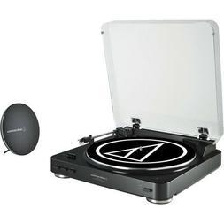 Audio-Technica AT-LP60SPBT-BK Fully Automatic Belt-Drive Wir