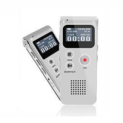 eBoTrade Digital Audio Voice Recorder Dictaphone MP3 Player