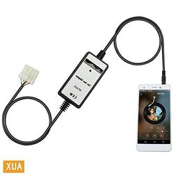 Auxillary Adapter,Yomikoo Car AUX MP3 Player Radio Car Digit