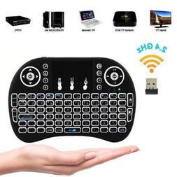 Backlight LED Mini i8 Wireless 2.4GHz Keyboard Remote Contro