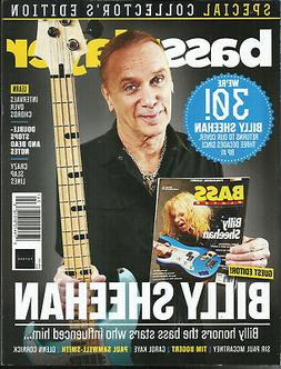 BASS PLAYER MAGAZINE, BILLY SHEEHAN  SPECIAL COLLECTOR'S EDI