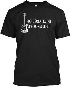 Bass Player T Gift In Charge Of Hanes Tagless Tee T-Shirt