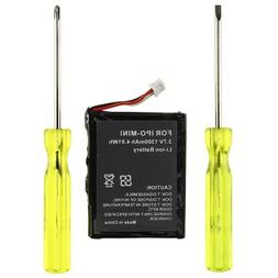 Insten 1300mAh Battery with Screwdriver for iPod mini 4GB/6G