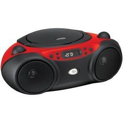 GPX BC232R CD Player Boom Box