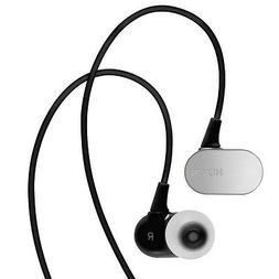 Nixon Black Micro Blaster In Ear Headphones w/3-Button Remot