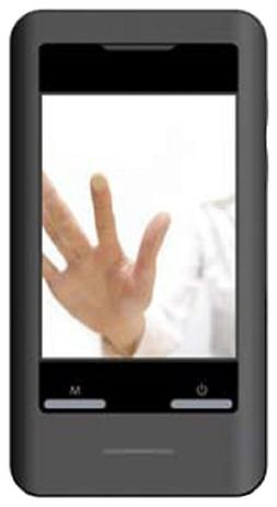 "Coby 2.8"" Black 4GB Video MP3 Player MP828"