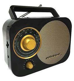 Studebaker 4330975871 Black Retro SB2000 Replica Portable AM