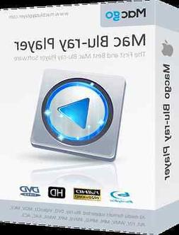 Macgo Blu-Ray Player for MAC {SOFTWARE}  ,Play DVD BD Video
