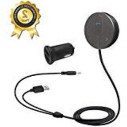 Besign Bluetooth 4.0 Car Kit Hands-Free Wireless Talking, Mu