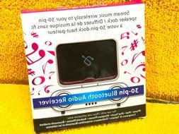 Aluratek 30 Pin Bluetooth Audio Receiver for iPhone Dock