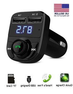 Bluetooth Car FM Transmitter MP3 Player Hands free Radio Ada