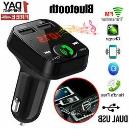 In Car Bluetooth FM Transmitter Radio MP3 Wireless Adapter C