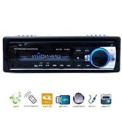 bluetooth car stereo fm aux input receiver