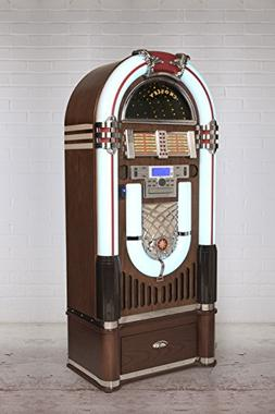 Crosley Full Size Bluetooth CR1206A-ST CD Jukebox w/ Storage