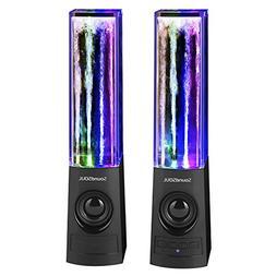 SoundSOUL Bluetooth Dancing Water Speakers LED Speakers Wire