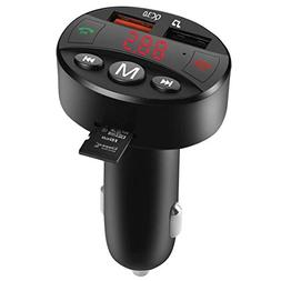 Bluetooth FM Transmitter for Car, Difini Wireless in-Car Rad