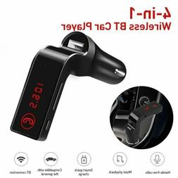 Bluetooth FM Transmitter Wireless MP3Player Car Kit Charger