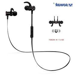 SOWAK Sports Bluetooth Headphones, bluetooth V4.1 wireless h