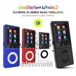 AGPtek Bluetooth Lossless MP3 Music Player Metal Body Loud S