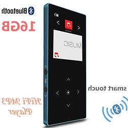 16GB Bluetooth MP3 Music Player Touch Screen Button Ultra Th