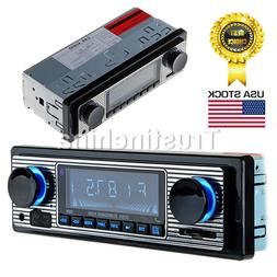 Bluetooth MP3 Player USB AUX Pandora Car Stereo USB FM Radio