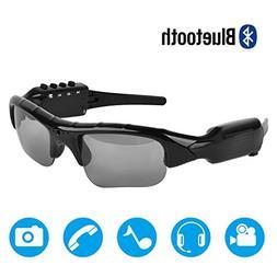 Bluetooth Sunglasses,MOVTEKE Digital Camera Sunglasses Recor